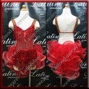 JUNIOR LATIN SALSA COMPETITION DRESS LDW (LK40)