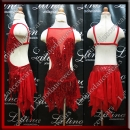 JUNIOR LATIN SALSA COMPETITION DRESS LDW (LK41)