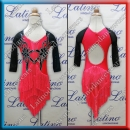 JUNIOR LATIN SALSA COMPETITION DRESS LDW (LK44)