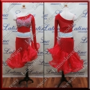 JUNIOR LATIN SALSA COMPETITION DRESS LDW (LK45)