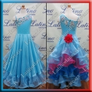 GIRL BALLROOM SALSA COMPETITION DRESS LDW (SK2)