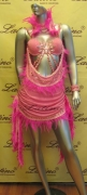 LATIN SALSA COMPETITION DRESS LDW (LS27A) only on sale on latinodancewears.com