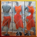 LATIN SALSA COMPETITION DRESS LDW SIZE M (VL517)