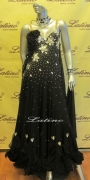 BALLROOM COMPETITION DRESS LDW (SS7A) only on sale on latinodancewears.com