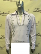 MAN LATIN SALSA SHIRT LDW (BS8)