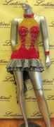 LATIN SALSA COMPETITION DRESS LDW (LS53) only on sale on latinodancewears.com