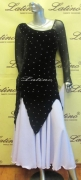 LATIN BALLROOM COMPETITION DRESS LDW (VS24A) only on sale on latinodancewears.com