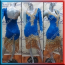 LATIN SALSA COMPETITION DRESS LDW (VL592)