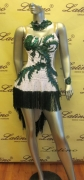 LATIN SALSA COMPETITION DRESS LDW (LS57) only on sale on latinodancewears.com