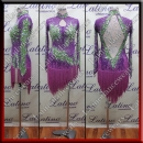 LATIN SALSA COMPETITION DRESS LDW (LS316B)