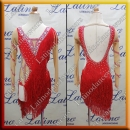 JUNIOR LATIN SALSA COMPETITION DRESS LDW (LK55)