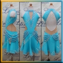 JUNIOR LATIN SALSA COMPETITION DRESS LDW (LK56)