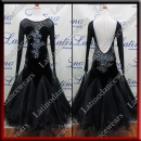 GIRL BALLROOM SALSA COMPETITION DRESS LDW (SK6)