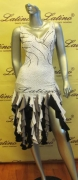 LATIN SALSA COMPETITION DRESS LDW (LT552) only on sale on latinodancewears.com