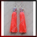 WOMAN LATIN SALSA BALLROOM EARRINGS (EA1B)