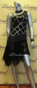 LATIN SALSA COMPETITION DRESS LDW (LS58) only on sale on latinodancewears.com