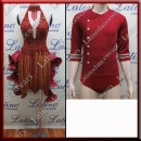 LATIN SALSA COMPETITION FOR COUPLE DRESS-SHIRT LDW (AL56A/B294C)