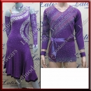 LATIN SALSA COMPETITION FOR COUPLE DRESS-SHIRT LDW (VL537/B323A)