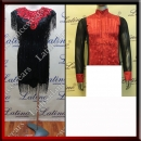 LATIN SALSA COMPETITION FOR COUPLE DRESS-SHIRT LDW (VL588/B106C)