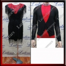 LATIN SALSA COMPETITION FOR COUPLE DRESS-SHIRT LDW (VL588/B346)