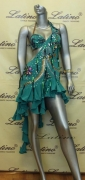 LATIN SALSA COMPETITION DRESS LDW (LS66) only on sale on latinodancewears.com