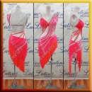 LATIN SALSA COMPETITION DRESS LDW (LT1197)