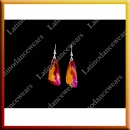WOMAN LATIN SALSA BALLROOM EARRINGS (EA8)