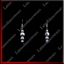 WOMAN LATIN SALSA BALLROOM EARRINGS (EA9)