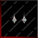 WOMAN LATIN SALSA BALLROOM EARRINGS (EA11)