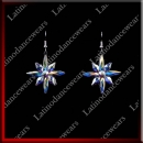 WOMAN LATIN SALSA BALLROOM EARRINGS (EA12)