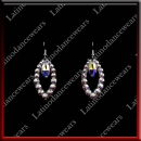 WOMAN LATIN SALSA BALLROOM EARRINGS (EA13)