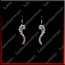 WOMAN LATIN SALSA BALLROOM EARRINGS (EA18)