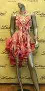 LATIN SALSA COMPETITION DRESS LDW (LS71) only on sale on latinodancewears.com