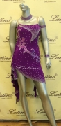 LATIN SALSA COMPETITION DRESS LDW (LS72) only on sale on latinodancewears.com
