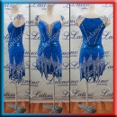 LATIN SALSA COMPETITION DRESS LDW (LT1218)