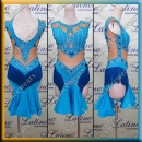 LATIN SALSA COMPETITION DRESS LDW (LT1239)