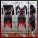 LATIN SALSA COMPETITION DRESS LDW (LT1223)
