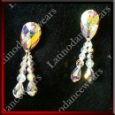 WOMAN LATIN SALSA BALLROOM EARRINGS (EA26)