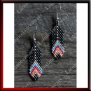 WOMAN LATIN SALSA BALLROOM EARRINGS (EA38)