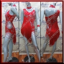 LATIN SALSA COMPETITION DRESS LDW (AL73A)