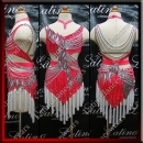 JUNIOR LATIN SALSA COMPETITION DRESS LDW (LK73)