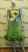 LATIN SALSA COMPETITION DRESS LDW (LS83) only on sale on latinodancewears.com