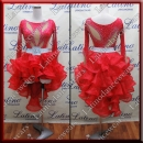 LATIN SALSA COMPETITION 2 IN 1 DRESS LDW (LT1253)