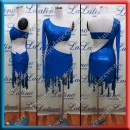 LATIN SALSA COMPETITION DRESS LDW (LS305B)
