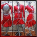 LATIN SALSA COMPETITION DRESS LDW (AL84)