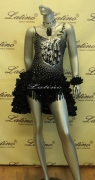 LATIN SALSA COMPETITION DRESS LDW (VL226) only on sale on latinodancewears.com