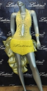 LATIN SALSA COMPETITION DRESS LDW (LS84) only on sale on latinodancewears.com