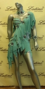 LATIN SALSA COMPETITION DRESS LDW (LS87) only on sale on latinodancewears.com