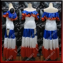 LATIN SALSA COMPETITION DRESS LDW (AL90)