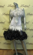 LATIN SALSA COMPETITION DRESS LDW (LS91) only on sale on latinodancewears.com